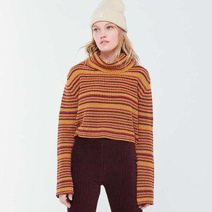 Urban Outfitters Mackenna Striped Turtleneck